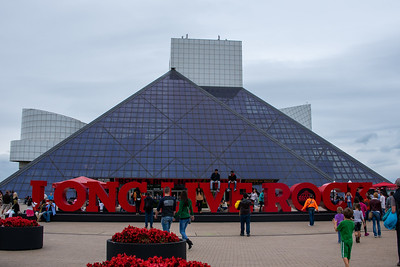 A Busy Rock Hall