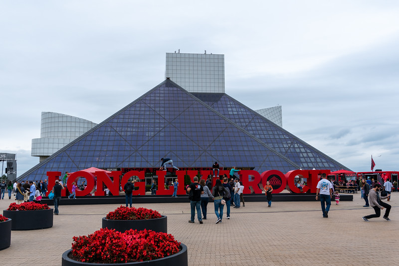 Jamming at the Rock Hall