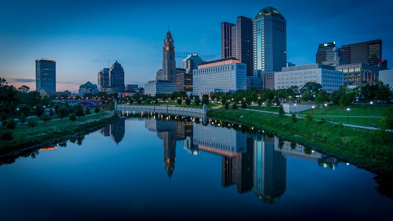 Cool Columbus Evening
