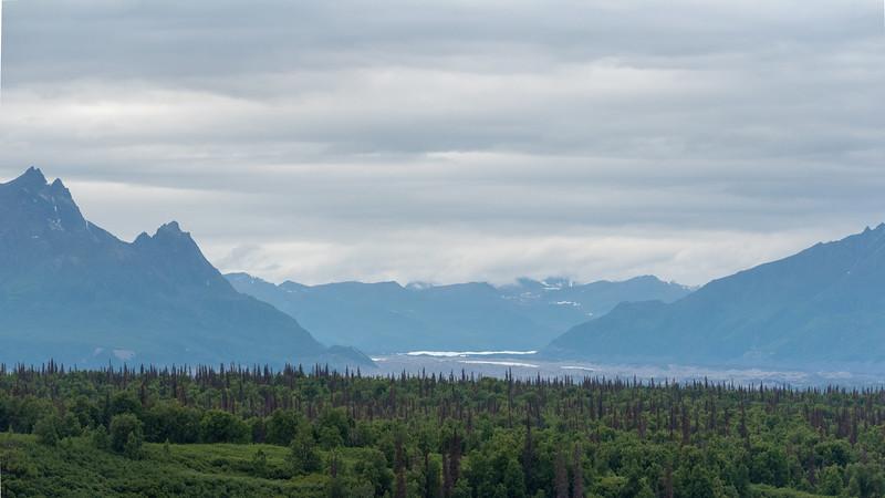 Ruth Glacier Terminus