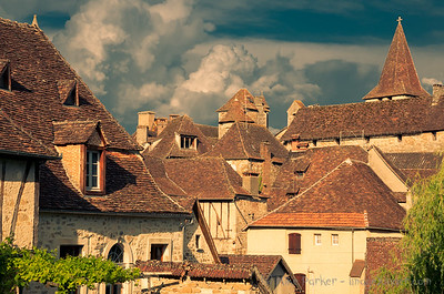 Medieaval roofs of Carennac