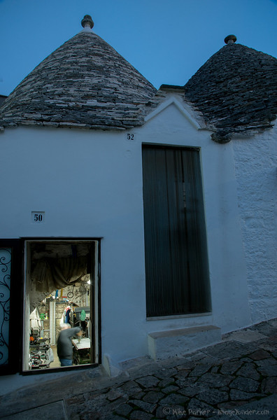 After Hours in Alberobello