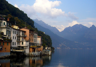 Lake Lugano, Swiss