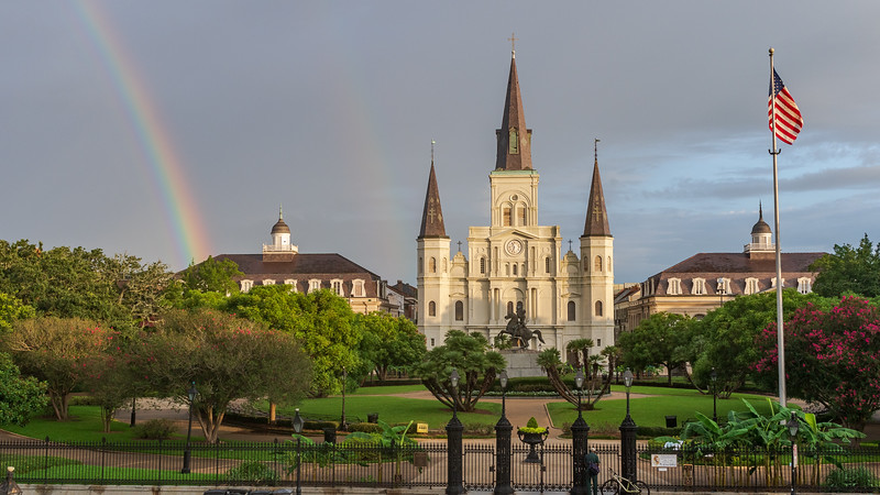 Rainbows in the French Quarter