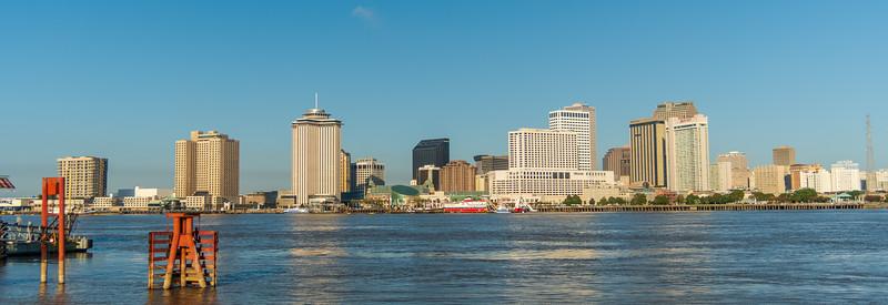 Mississippi Sunrise at New Orleans
