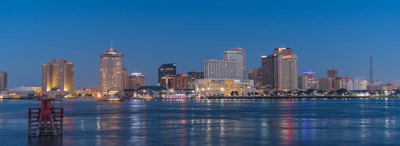Pre-Dawn New Orleans