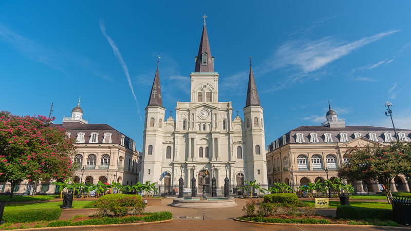 The Cabildo, St. Louis Cathedral, & The Presbytere