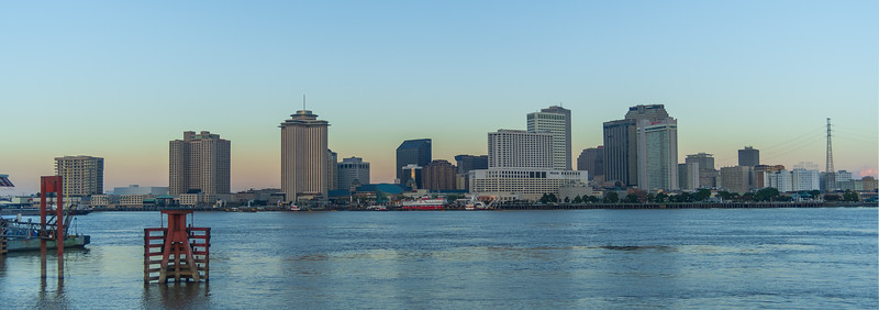 Dawn on the River at New Orleans