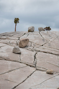 Cracks and Erratics