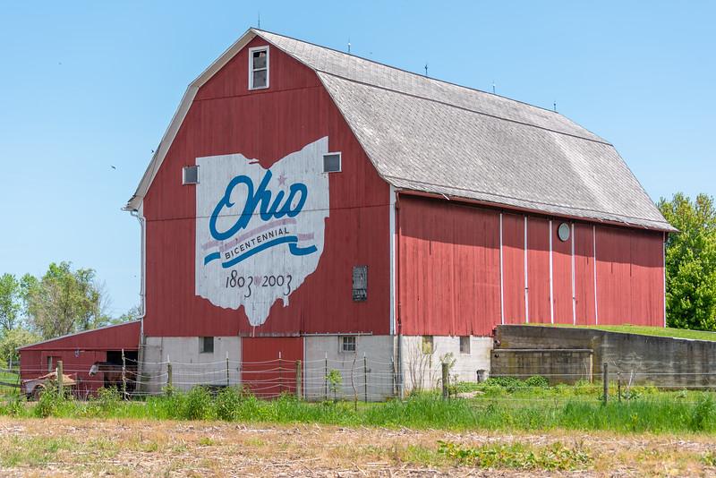 The Erie County Bicentennial Barn