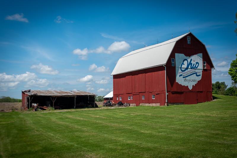 Huron County Bicentennial Barn