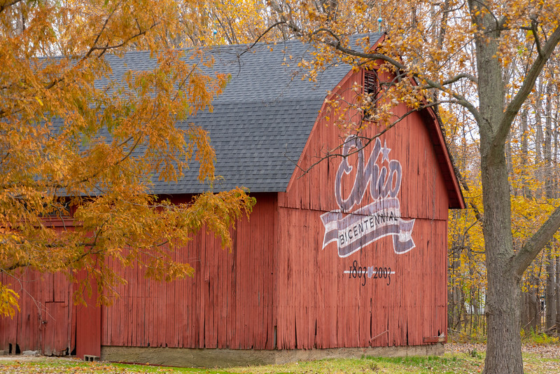 Autumn Bicentennial Barn