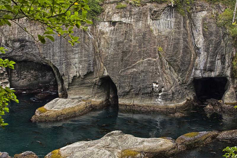 Cape Flattery Caves