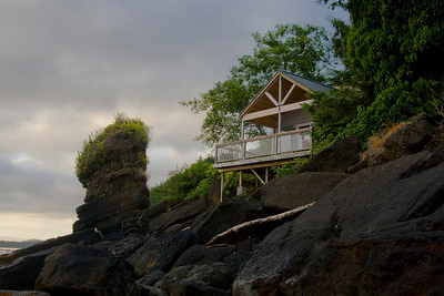 One of the other cabins at Chito Beach Resort.