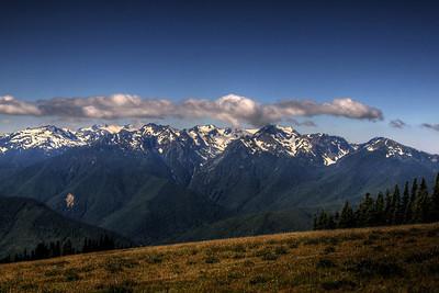 View from Hurricane Ridge.