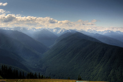 Another view from Hurricane Ridge.