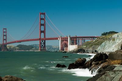 S.F. Golden Gate, A view from Baker's Beach