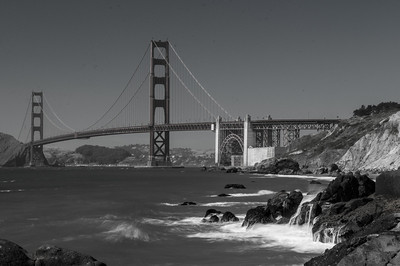 S.F. Golden Gate, A view from Baker's Beach