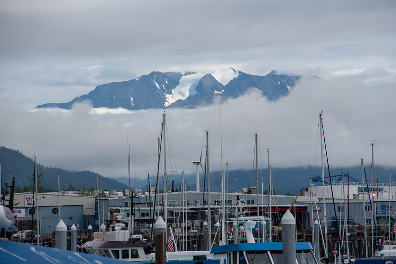 Mountain over Masts