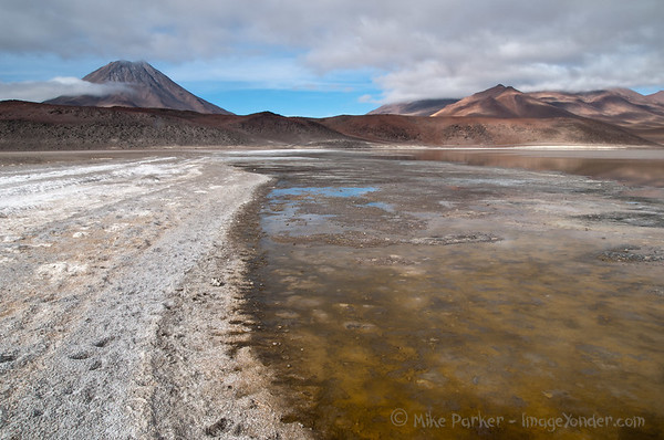 Laguna Lejia at 4200m, Atacama, Chile