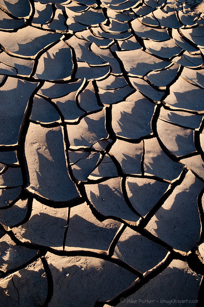 Dried mud shapes, Sna Pedro de Atacama, Chile