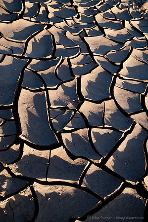 Dried mud shapes, San Pedro de Atacama, Chile