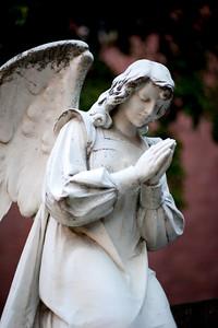 Courtyard Guardian Angel