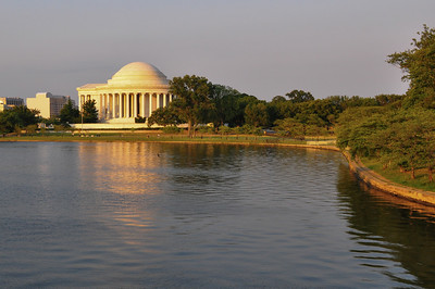 Sunset at Thomas Jefferson Memorial, Washington D.C.