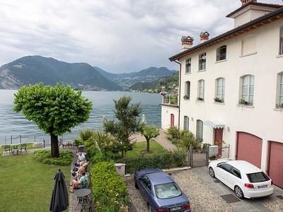 Lago d'Iseo, from Sulzano, Italy