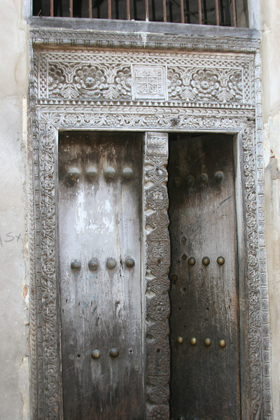 classic zanzibar door
