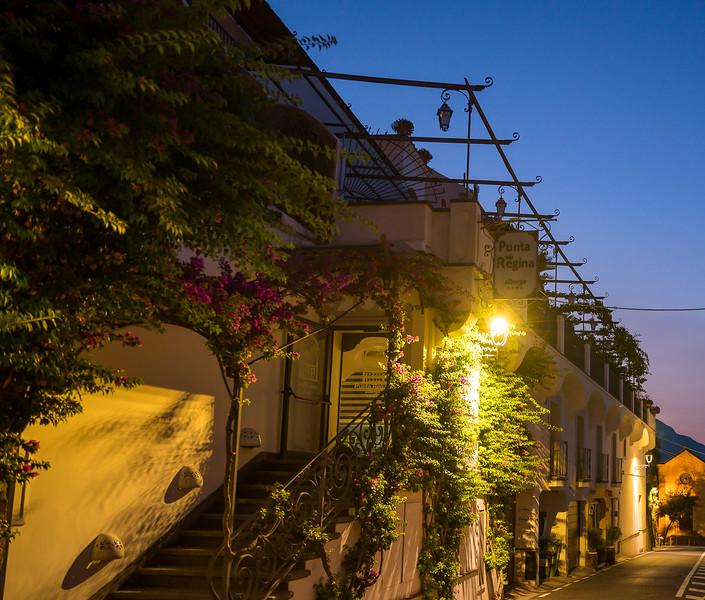 Dawn on a Positano Street