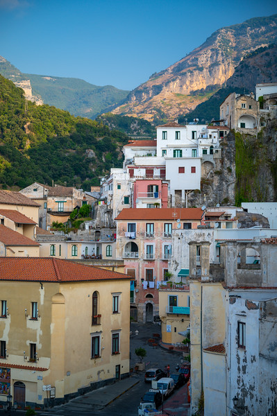 Amalfi Street to Mountains