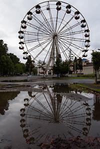 Deserted, barren, Chenrobyl style