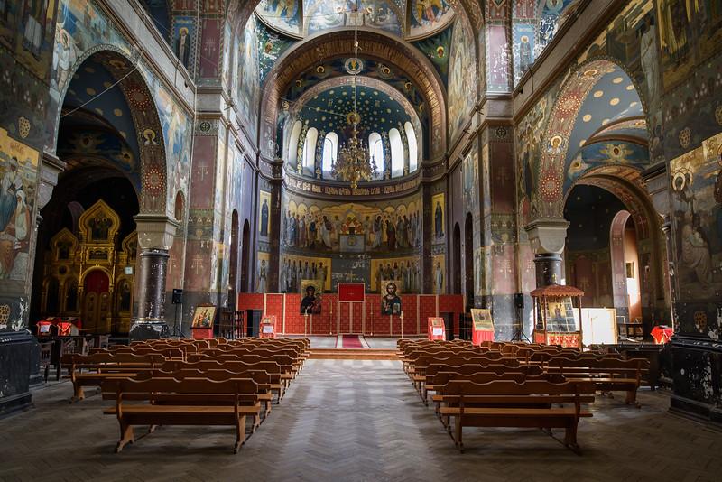 New Athos Monastery, inside