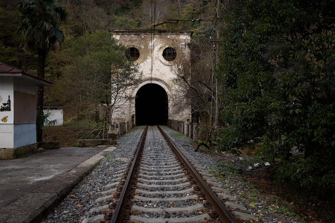 The monster train-swallower