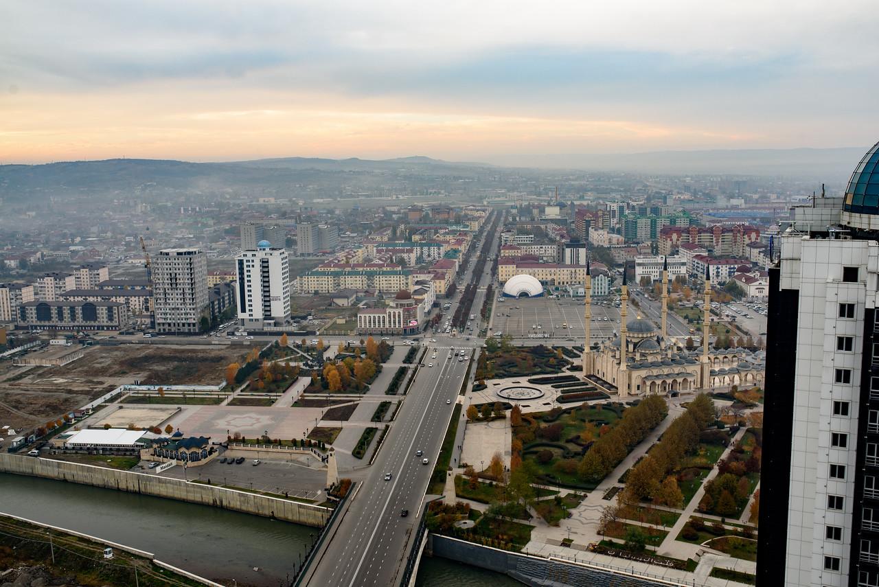 Grozny landscape