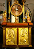 One of the Hermitage collections, a cabinet with a clock.
