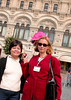 Beth and Natasha, our tour guide in Moscow.