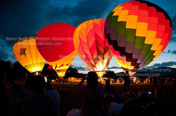 Quechee Balloon Festival 2011