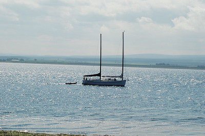 A fine day for sailing on the Moray Firth just of Fortrose.