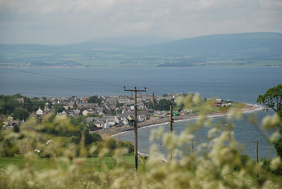 The lovely little town of Cromarty from the road up to Sutor Stacks. Taken on our trip to the Black Isle in June 2007.