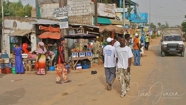 Travel;  Senegal;  Saly;  Mbour;  Senegal;