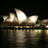Sydney Opera House ... designed by John Utzon from Denmark in 1957, opened 1973... amazing!