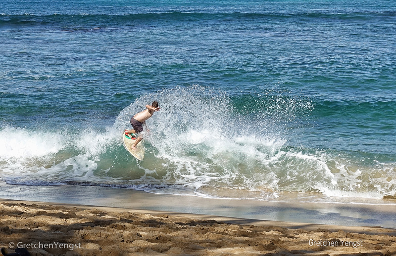 This is a skim boarder