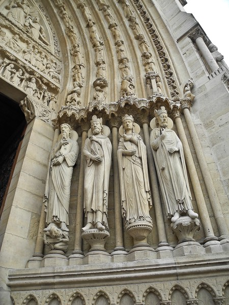 ND7: As you approach the doorway, Matthew, Mark , Luke, and John flank the PORTAL or entrance.