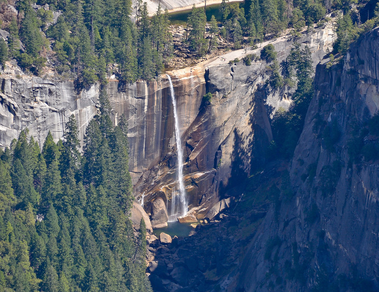 Vernal Fall and the Emerald Pool...