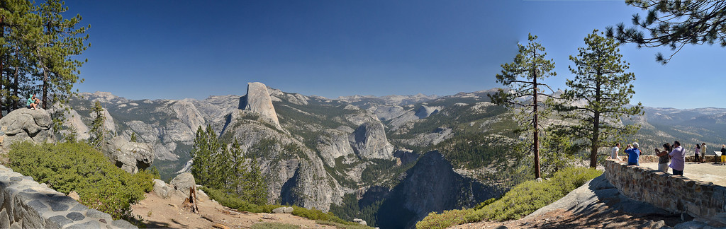 The glacial evidence of Yosemite Valley.