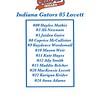 Indiana Gators 05 Lovett