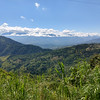 Views near the coffee plantations between Manizales and Medelin