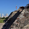 Cartagena - the San Castle-fortress built to defend against pirate attacks